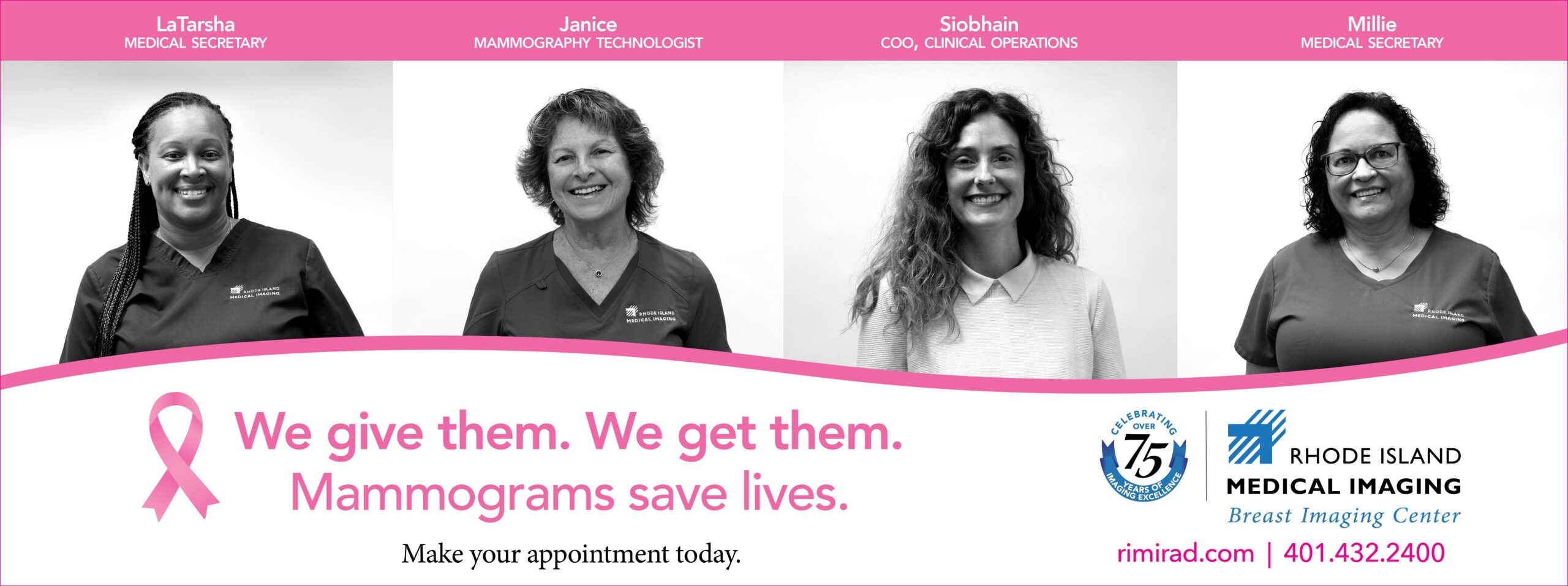 Rhode Island Medical Imaging (RIMI) - We Give Mammograms and We Get Them image